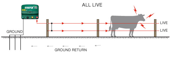 electric fence setup diagram choice image